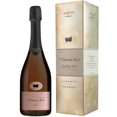 Le Grand Noir, Rose Brut Reserve, gift box