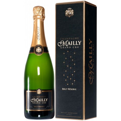 Mailly Grand Cru, Brut Reserve, Champagne, gift box