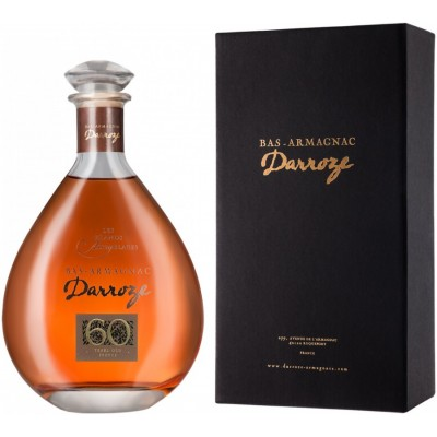 Darroze Les Grands Assemblages 60 ans d age Bas-Armagnac in decanter gift box 0.7 л
