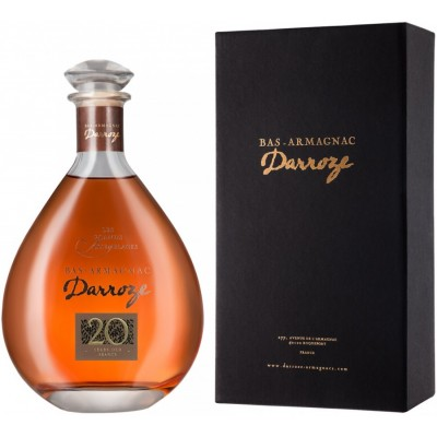 Darroze Les Grands Assemblages 20 ans d age Bas-Armagnac in decanter gift box 0.7 л