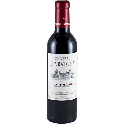 Chateau D Arvigny Haut-Medoc AOC Cru Bourgeois 375 мл