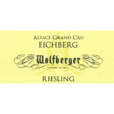 Wolfberger Riesling Eichberg Alsace Grand Cru