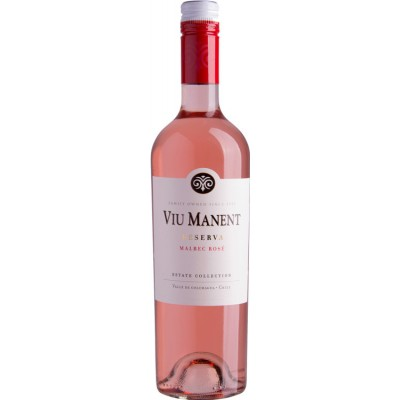 Viu Manent, Estate Collection, Reserva, Malbec, Rose