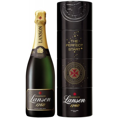 Lanson, Black Label, Brut, gift box, Twist Pack