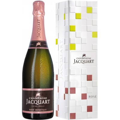 Jacquart, Rose, Mosaique, gift box