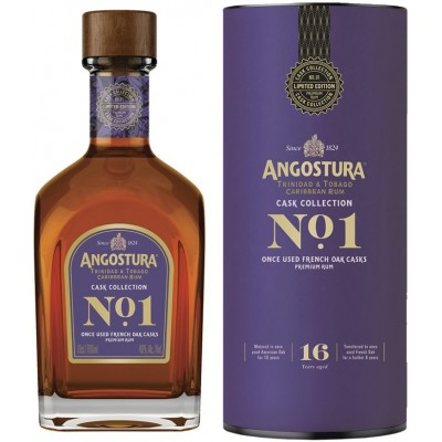 Angostura Cask Collection 1 16 YO gift tube 700 мл