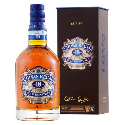Chivas Regal 18yo, gift box
