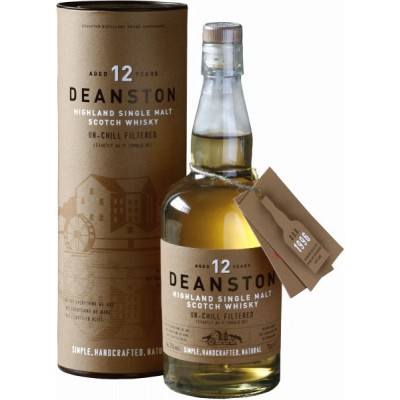 Deanston Aged 12 Years, gift box
