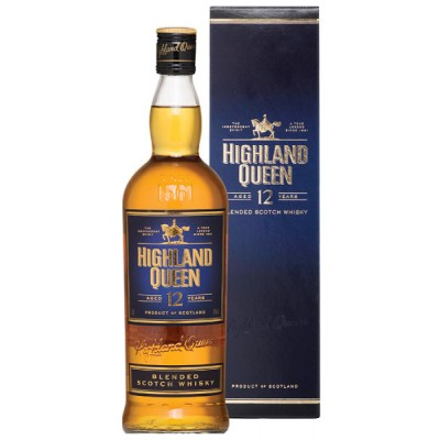Highland Queen 12yo, gift box