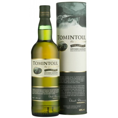 Tomintoul With a Peaty Tang, gift tube