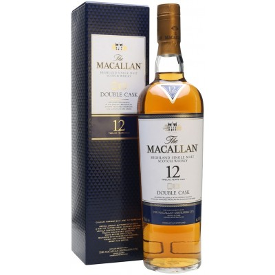 Macallan, Double Cask, 12 Years Old, gift box