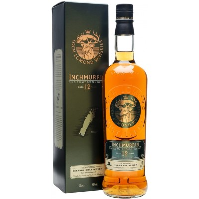 Loch Lomond, Inchmurrin, 12 Years Old, gift box