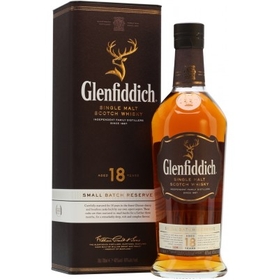 Glenfiddich 18 Years Old, gift box