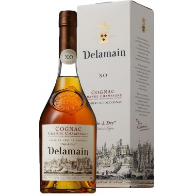 Delamain Pale Dry XO, gift box