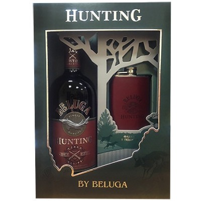 Beluga, Hunting, Berry Bitter, gift box with flask