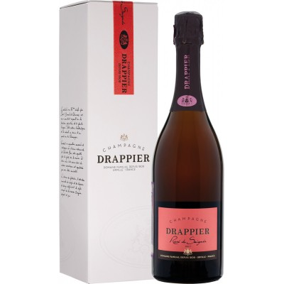 Champagne Drappier, Brut, Rose, Champagne, gift box