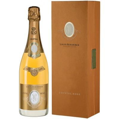 Louis Roederer, Cristal, Rose, 2012, gift box