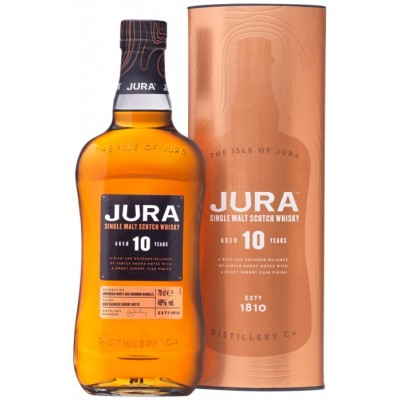 Isle Of Jura, 10 Years Old, in tube