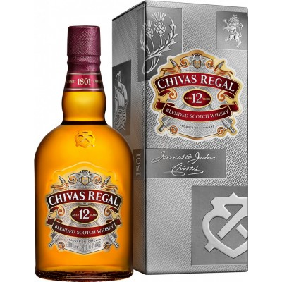 Chivas Regal 12yo, gift box