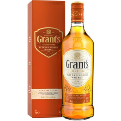 GrantТs, Rum Cask Finish, gift box