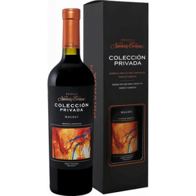 Navarro Correas, Coleccion Privada, Malbec, gift box