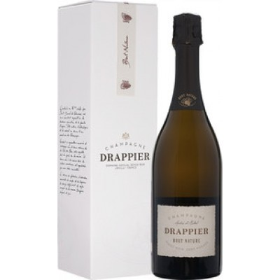 Champagne Drappier, Brut Nature, Zero Dosage, Champagne, gift box