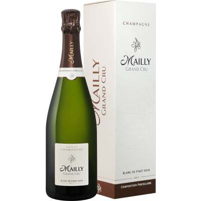 Mailly Grand Cru, Brut Blanc de Pinot Noir, Champagne, gift box