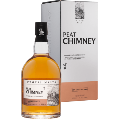 Wemyss Malts, Peat Chimney, gift box